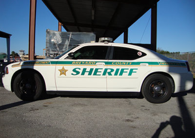 Brevard County Sheriff Striping