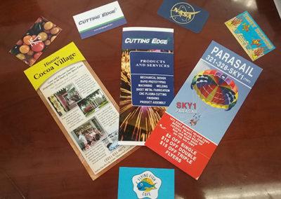 Flyer & Business Card Cluster