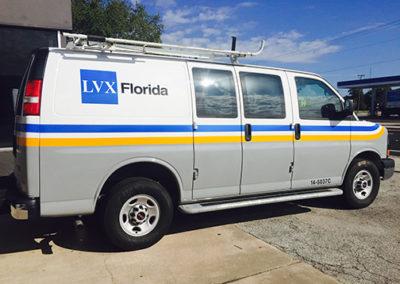 LVX Florida Reflective Van Graphics