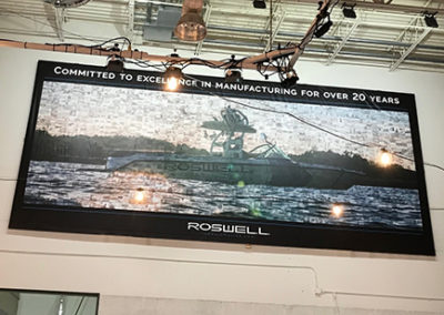 Large Roswell Framed Banner