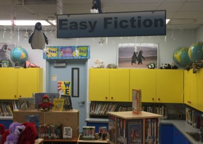 Library Hanging PVC Signs