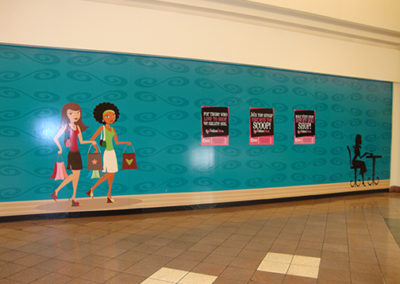 Merritt Square Mall Wall Wrap