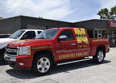 Nash FM Truck Graphics