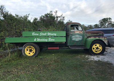 Obloy Family Ranch Old Time Truck Graphics