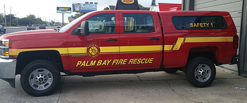 Palm Bay Fire Safety 1 Striping