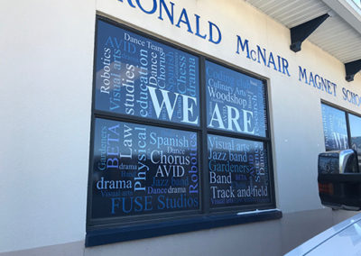 Ronald McNair Window Perf Graphics