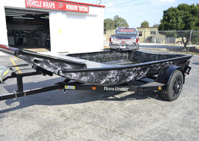 Black Flame Airboat Wrap