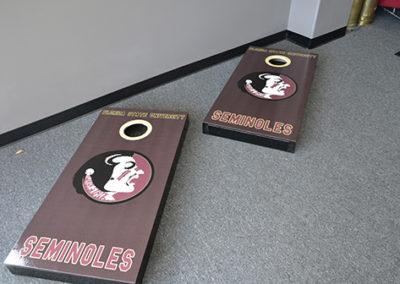 Cornhole Board Wrap
