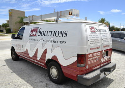 IM Solutions Van Wrap