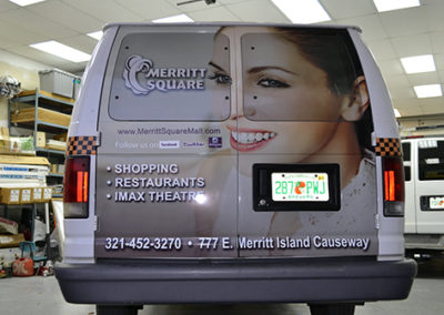 Merritt Square Mall Wrap