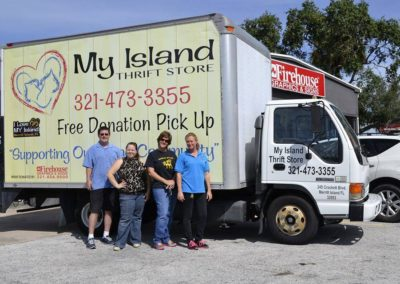 My Island Thrift Box Truck Wrap