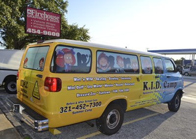 New Discoveries Learning Center Van Wrap