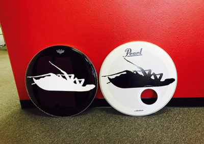 Papa Roach Drumhead Graphics