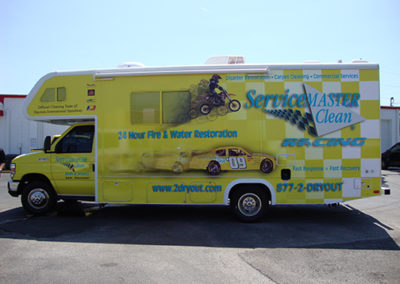 Service Master Clean RV Wrap